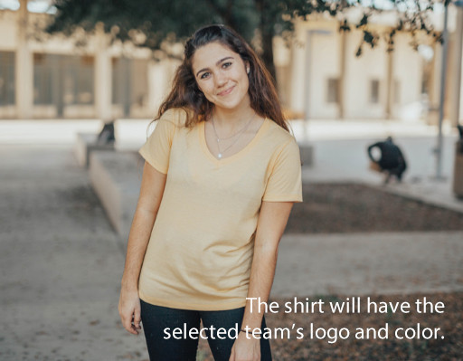 LSU Tigers National Championship Champs Womens Triblend Tshirt 2019 - 2020 Helmet Image a