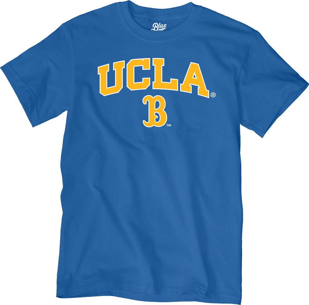 UCLA Bruins TShirt Varsity Blue Arch Over Image a