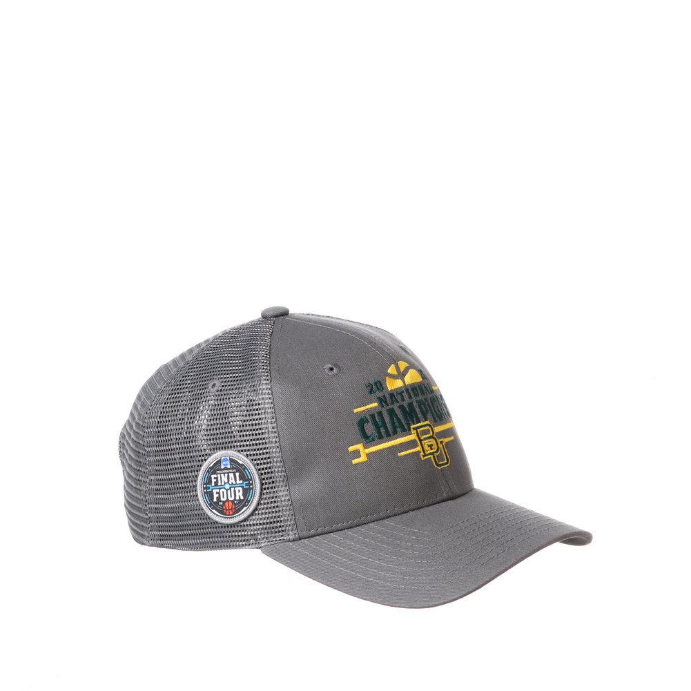 Baylor Bears National Basketball Championship Hat 2021 Big Rig Image a
