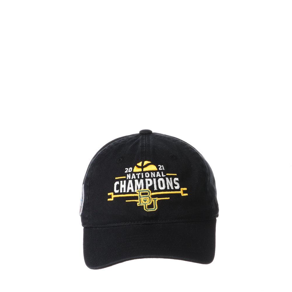 Baylor Bears National Basketball Championship Hat 2021 Scholarship Image a