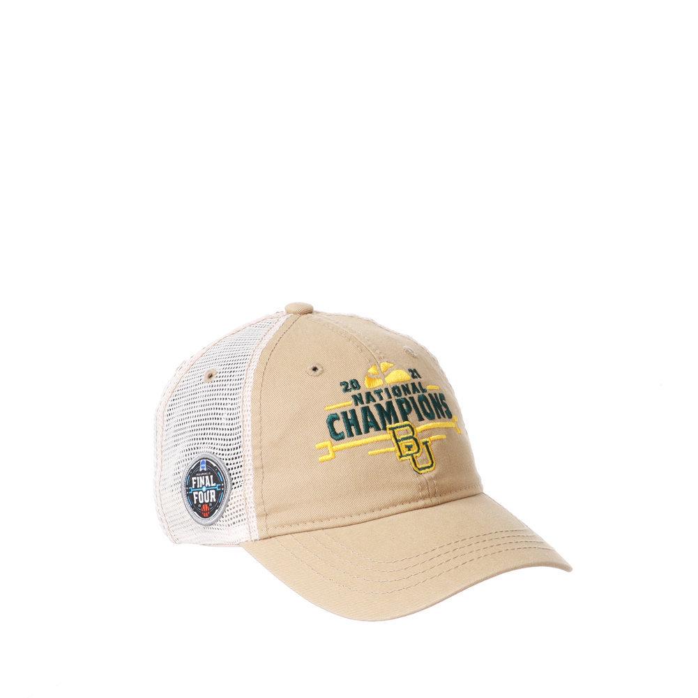 Baylor Bears National Basketball Championship Hat 2021 University Image a