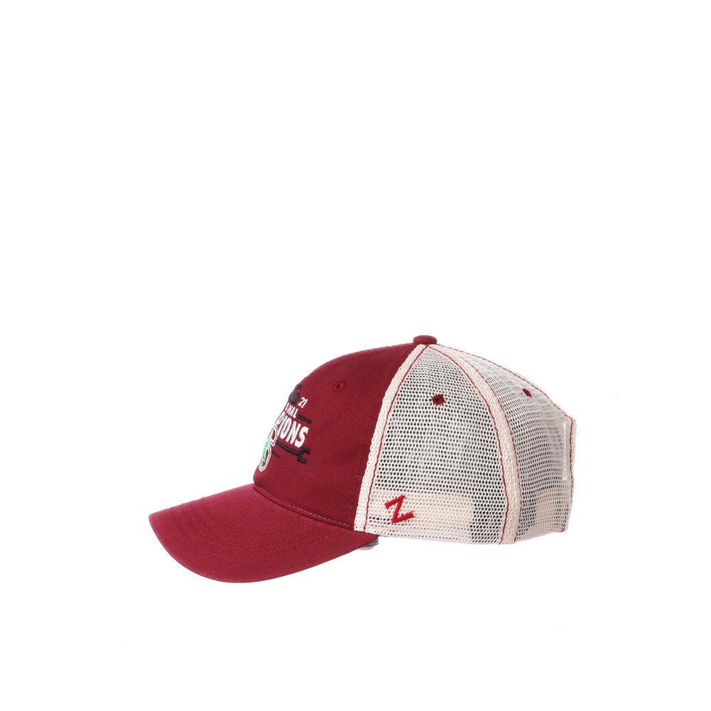 Stanford Cardinal Womens National Basketball Championship Hat 2021 University Image a