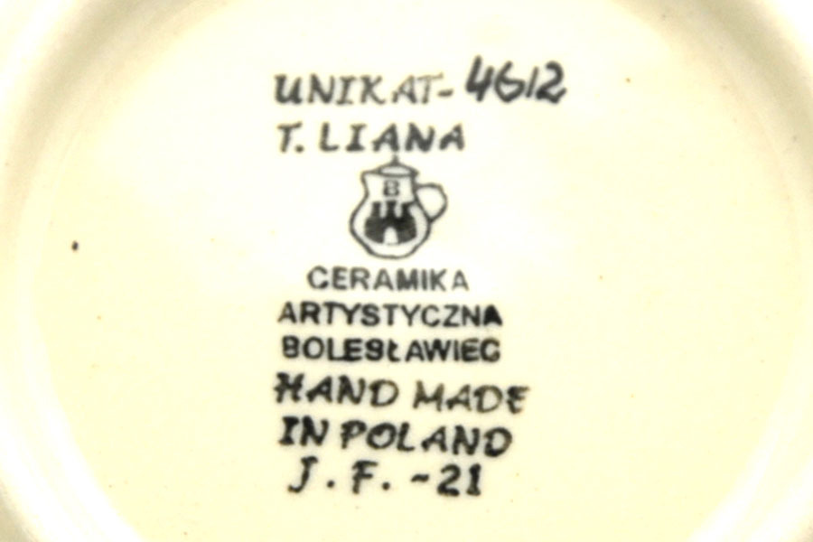 Polish Pottery Baker - Lasagna - Unikat Signature U4612 Image a