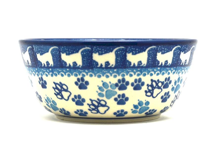 Polish Pottery Bowl - Ice Cream/Dessert - Boo Boo Kitty Image a