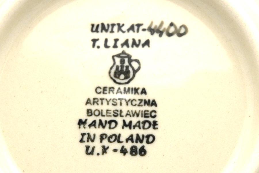 Polish Pottery Mug - 16 oz. Bistro - Unikat Signature U4400 Image a