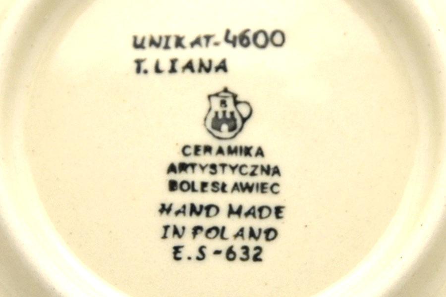 Polish Pottery Mug - 16 oz. Bistro - Unikat Signature U4600 Image a
