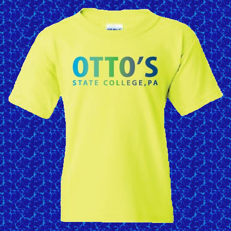 Otto's Kids Tee - Safety Green Image a