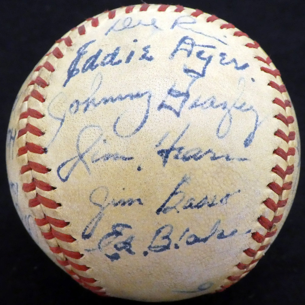 Authentic 194 Autographed Signed7 St. Louis Cardinals Autograph Image a
