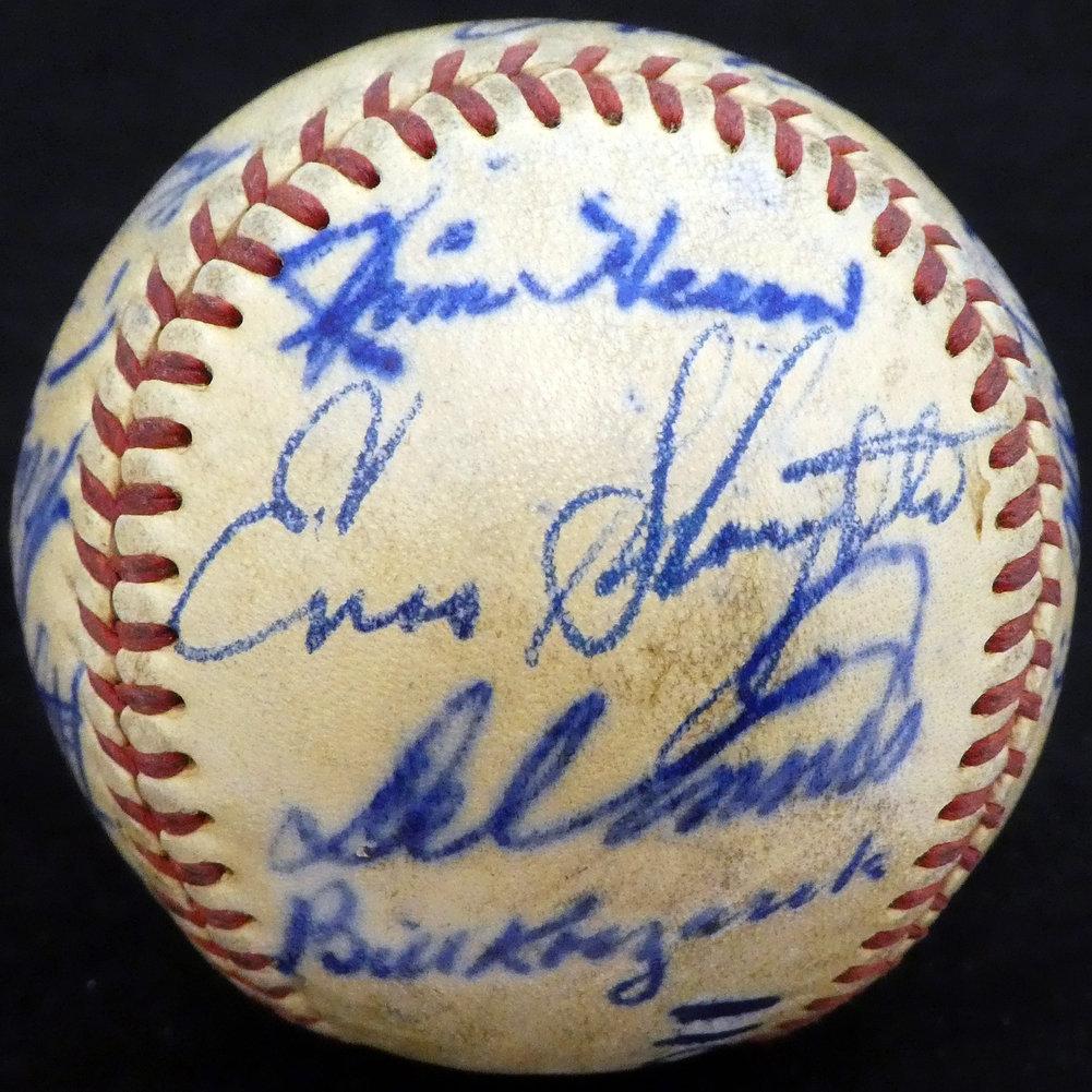 Authentic 195 Autographed Signed0 St. Louis Cardinals Autograph Image a
