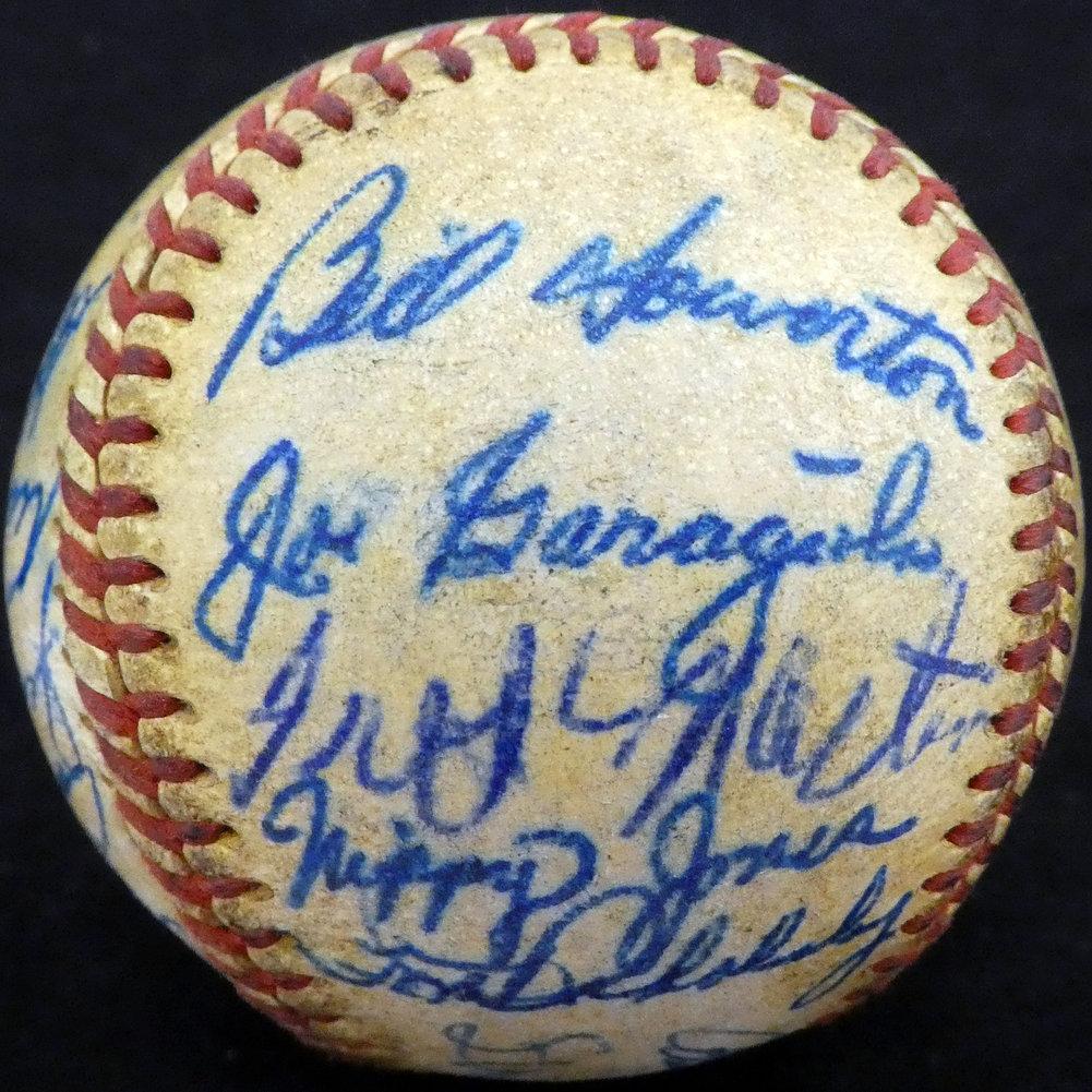 Authentic 195 Autographed Signed1 St. Louis Cardinals Autograph Image a