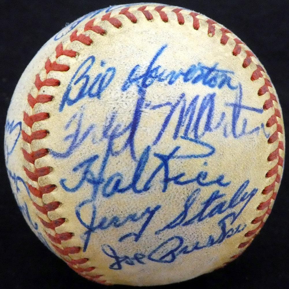 Authentic 195 Autographed Signed2 St. Louis Cardinals Autograph Image a