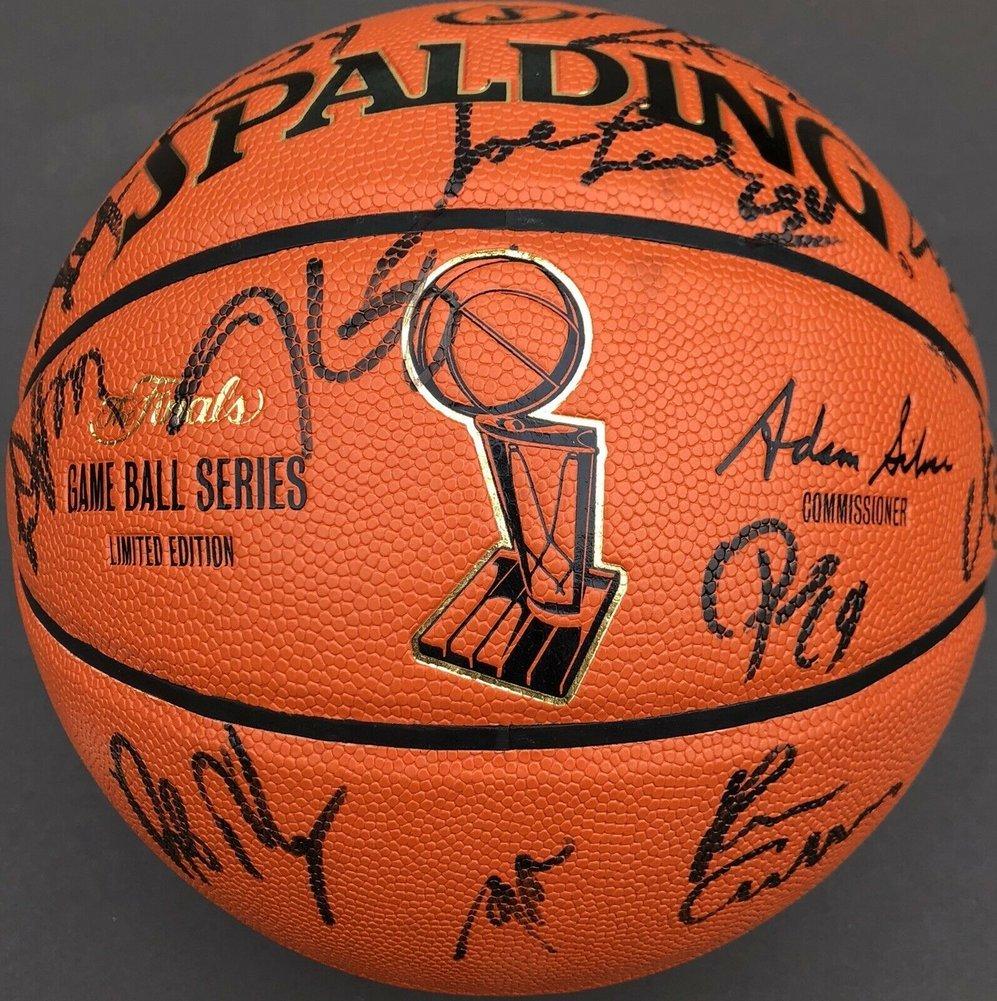 bd8239f508eb6 2017-18 Golden State Warriors Team Autographed Signed Memorabilia ...
