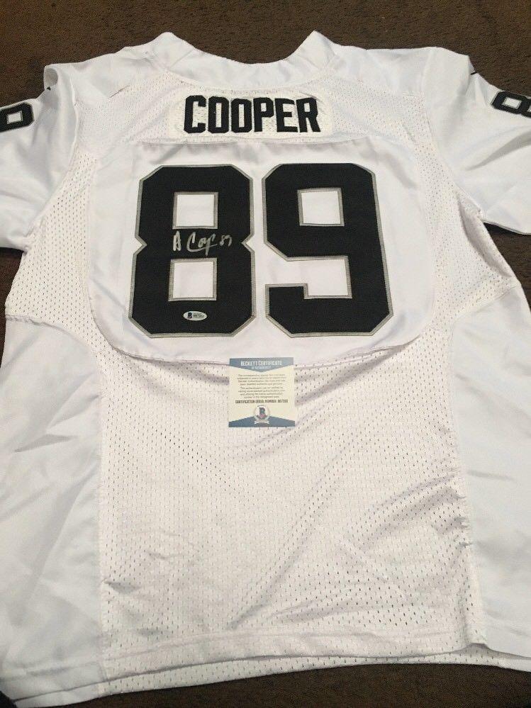 Amari Cooper Autographed Signed Signature Oakland Raiders Replica