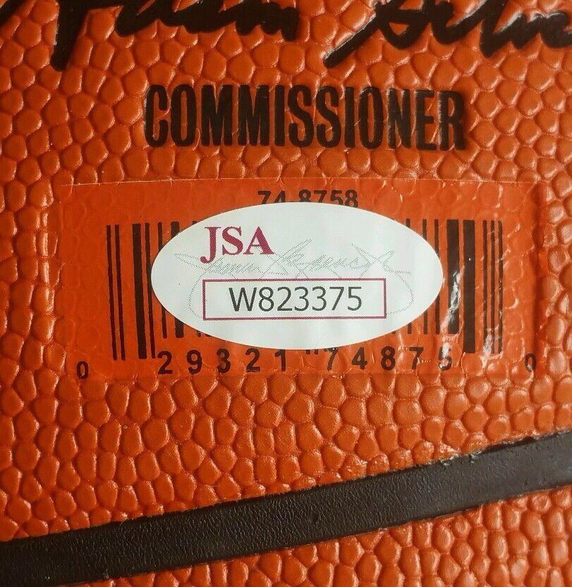 Andrew Wiggins Autographed Signed Signed Basketball Minnesota Timberwolves JSA PSA DNA Image a