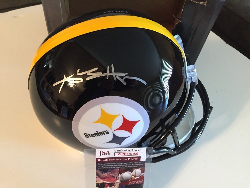 8551dafe55a Antonio Brown Autographed Signed   Autographed Signed F S Steelers ...