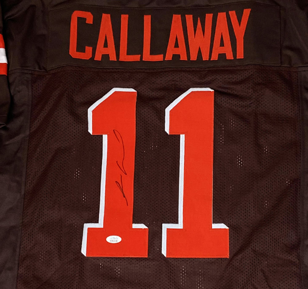 Antonio Callaway Cleveland Browns Autographed Signed Custom Jersey - JSA Authentic Image a