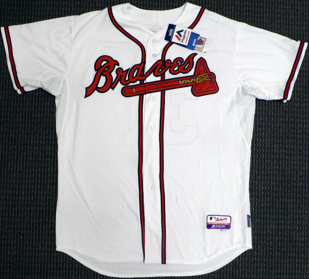 premium selection 98561 5166a Atlanta Braves Greg Maddux Autographed Signed White ...