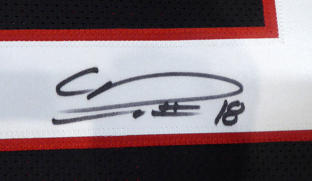 premium selection ba029 ebeeb Atlanta Falcons Calvin Ridley Autographed Signed Memorabilia ...