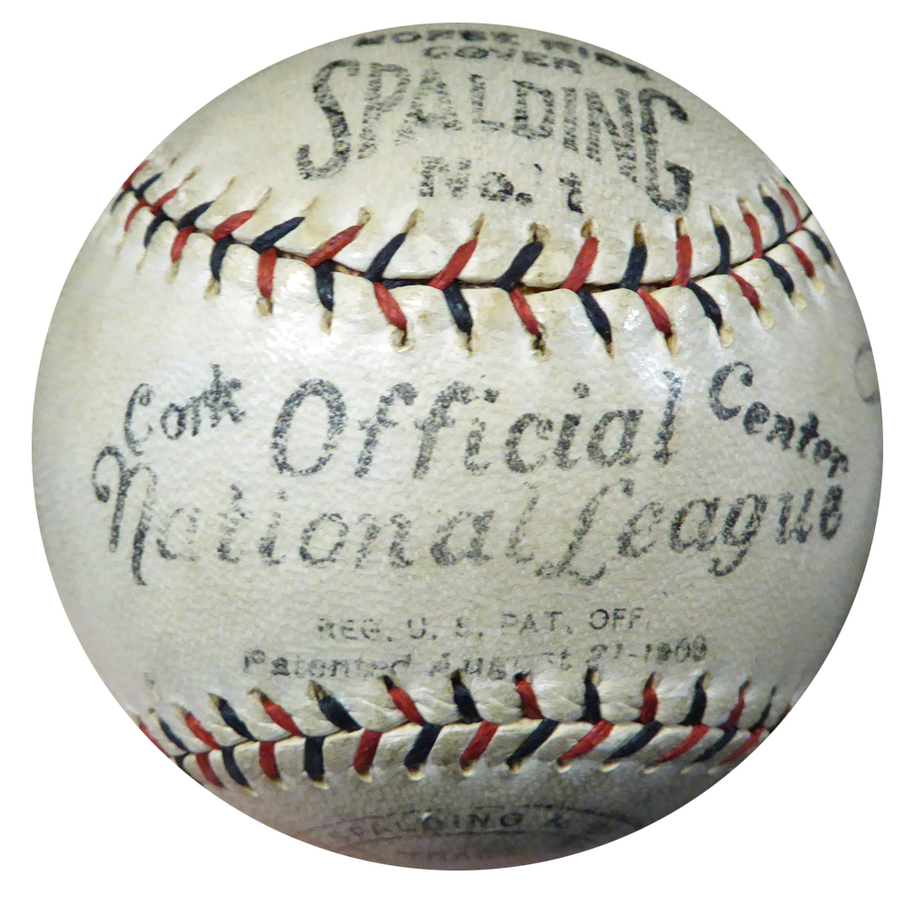 Babe Ruth Autographed Signed International League Baseball New York Yankees - PSA/DNA Certified Image a