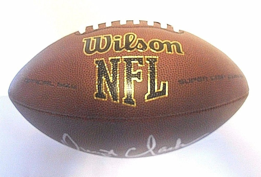 ca0d351b9 Beckett COA Dwight Clark Autographed Signed San Francisco Sf 49ers Football  Ball. Loading Images...  210.99 Price