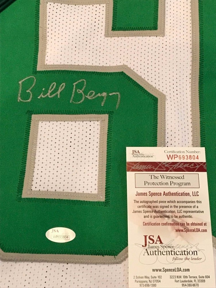 73ecbdb09 Bill Bergey Autographed Signed Philadelphia Eagles Jersey - JSA Authentic.  Loading Images...  361.99 Price