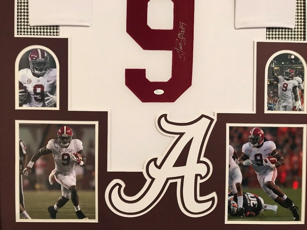 competitive price 303d5 96fc4 Bo Scarbrough Autographed Signed Custom Framed Alabama ...
