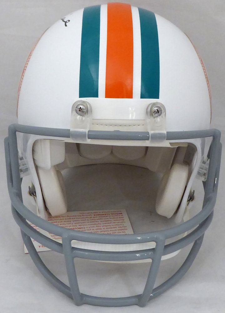 Bob Griese Autographed Signed Miami Dolphins Full Size Authentic Proline Helmet Beckett BAS Image a