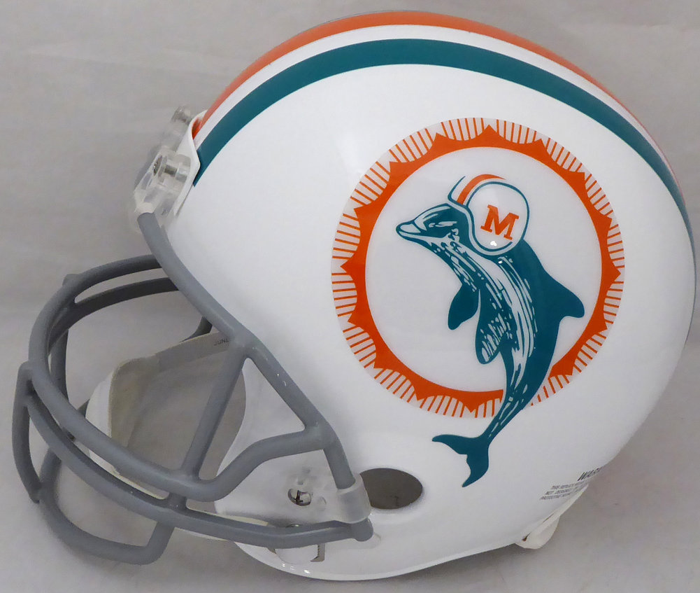 Bob Griese Autographed Signed Miami Dolphins Full Size Replica Helmet Beckett BAS Image a