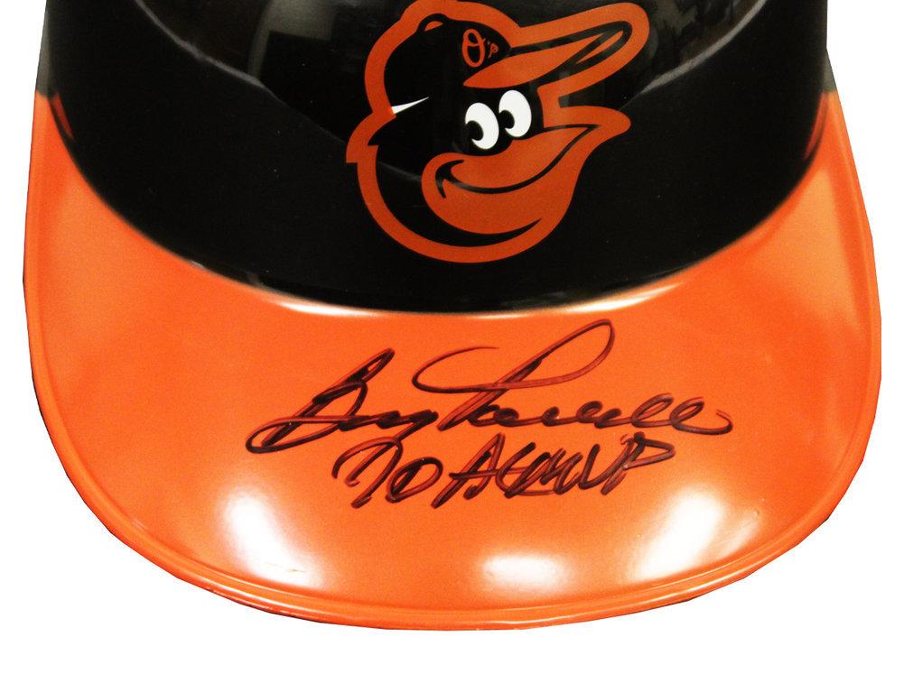 Boog Powell Autographed Signed Baltimore Orioles Batting Helmet with 70 AL MVP Inscription - JSA Authentic Image a