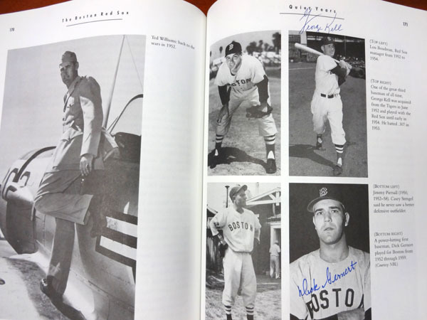 Boston Red Sox Legends Multi Autographed Signed Autographed Signed Book With Over 20 Signatures - JSA Authentication Image a
