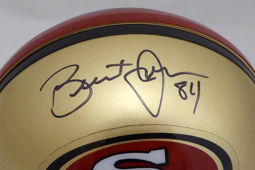Brent Jones Autographed Signed Auto San Francisco 49ers Mini Helmet BJ Holo  Stock  134871. Loading Images...  87.99 Price 6aac8ca7c