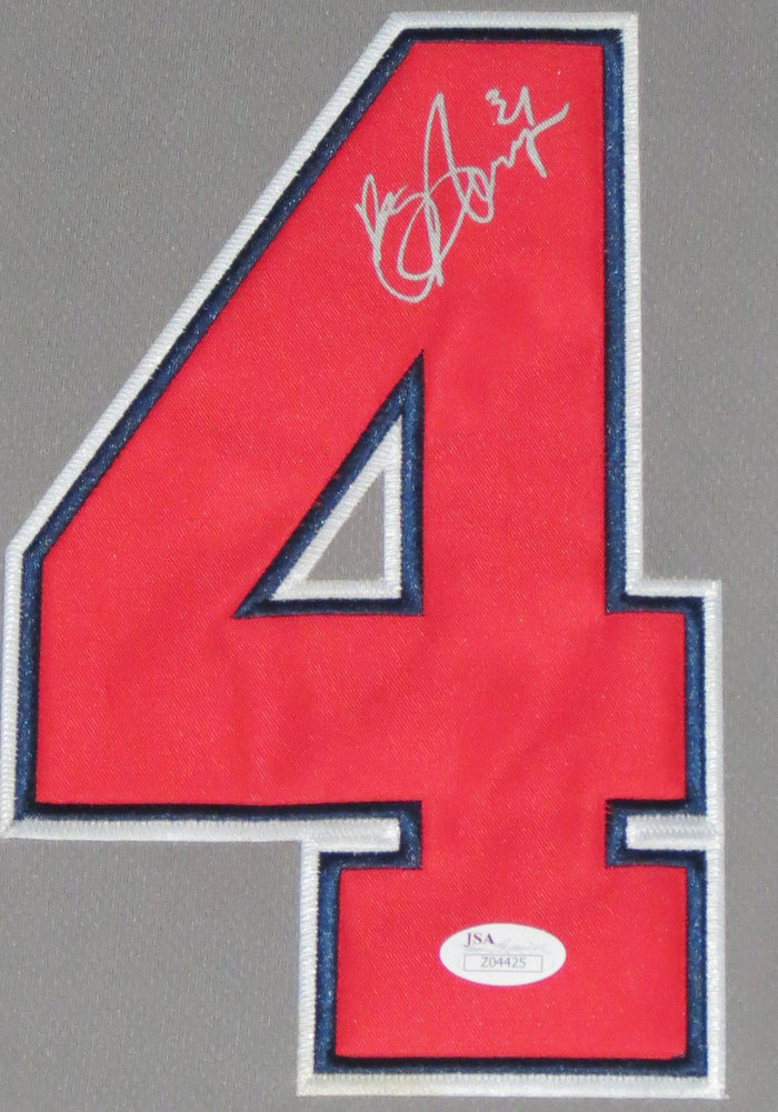 f89b31d9b5b ... purchase bryce harper authentic autographed signed nationals jersey jsa  dc834 c09e7