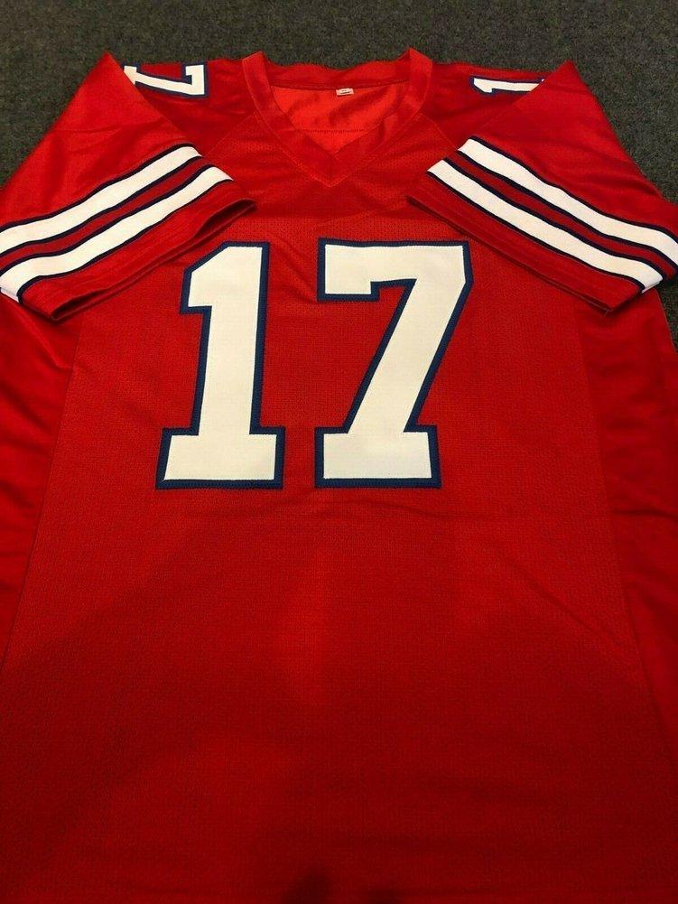 buy online f1b50 067b0 Buffalo Bills Josh Allen Autographed Signed Jersey ...