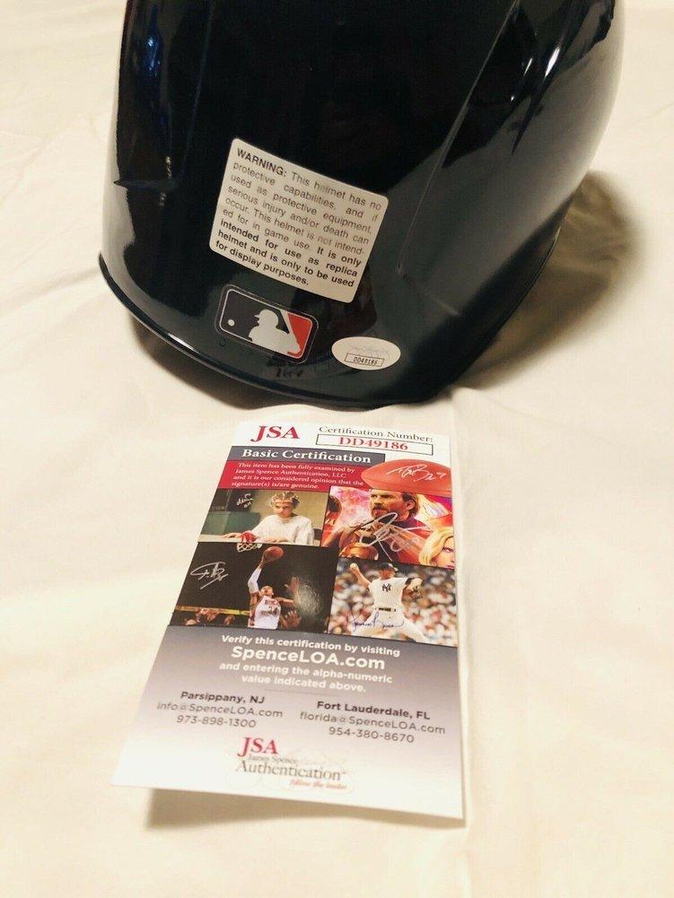 Carlos Correa Autographed Signed Houston Astros Full Size Batting Helmet Auto+JSA COA! Image a