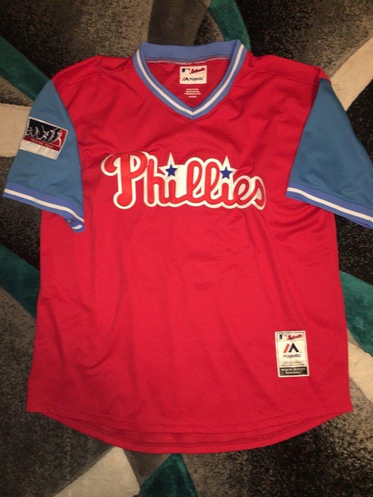 dedc0e69f Carlos Santana Autographed Signed Philadelphia Phillies Nickname Jersey  Slamtana Memorabilia PSA/DNA. Loading Images... $479.99 Price