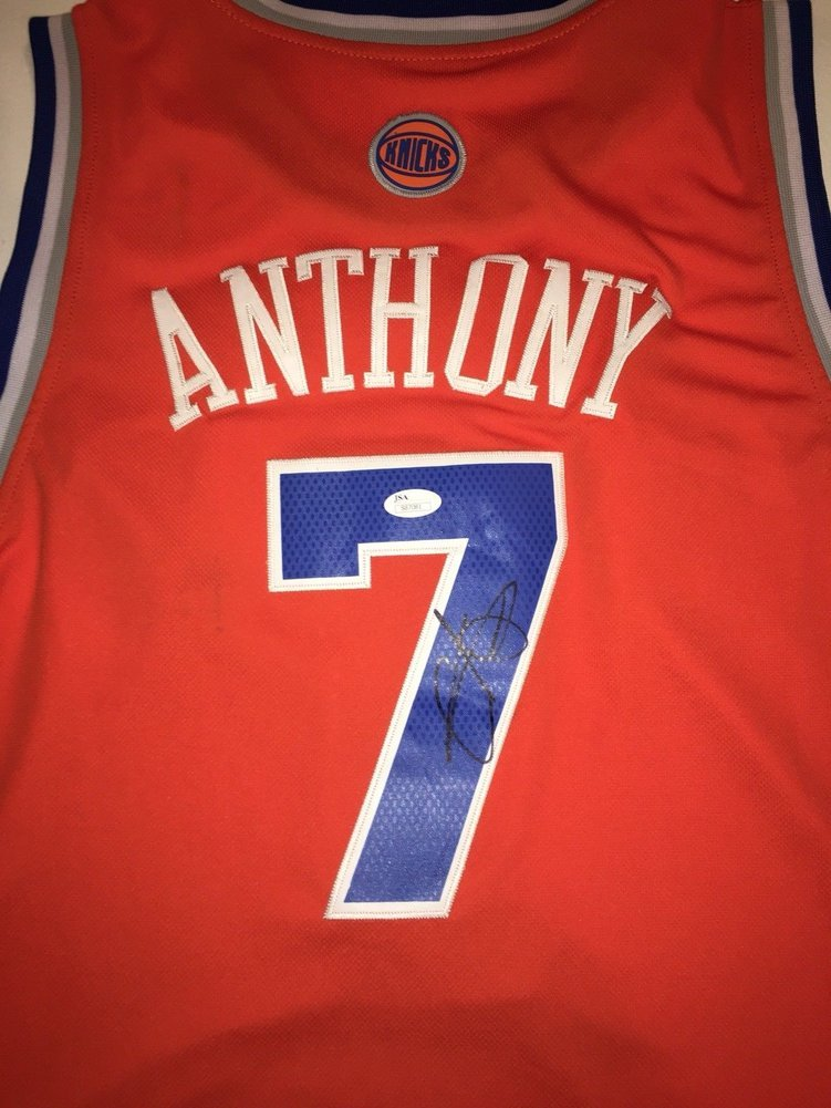 timeless design 4bc93 46908 get carmelo anthony autographed jersey 2829e 574aa
