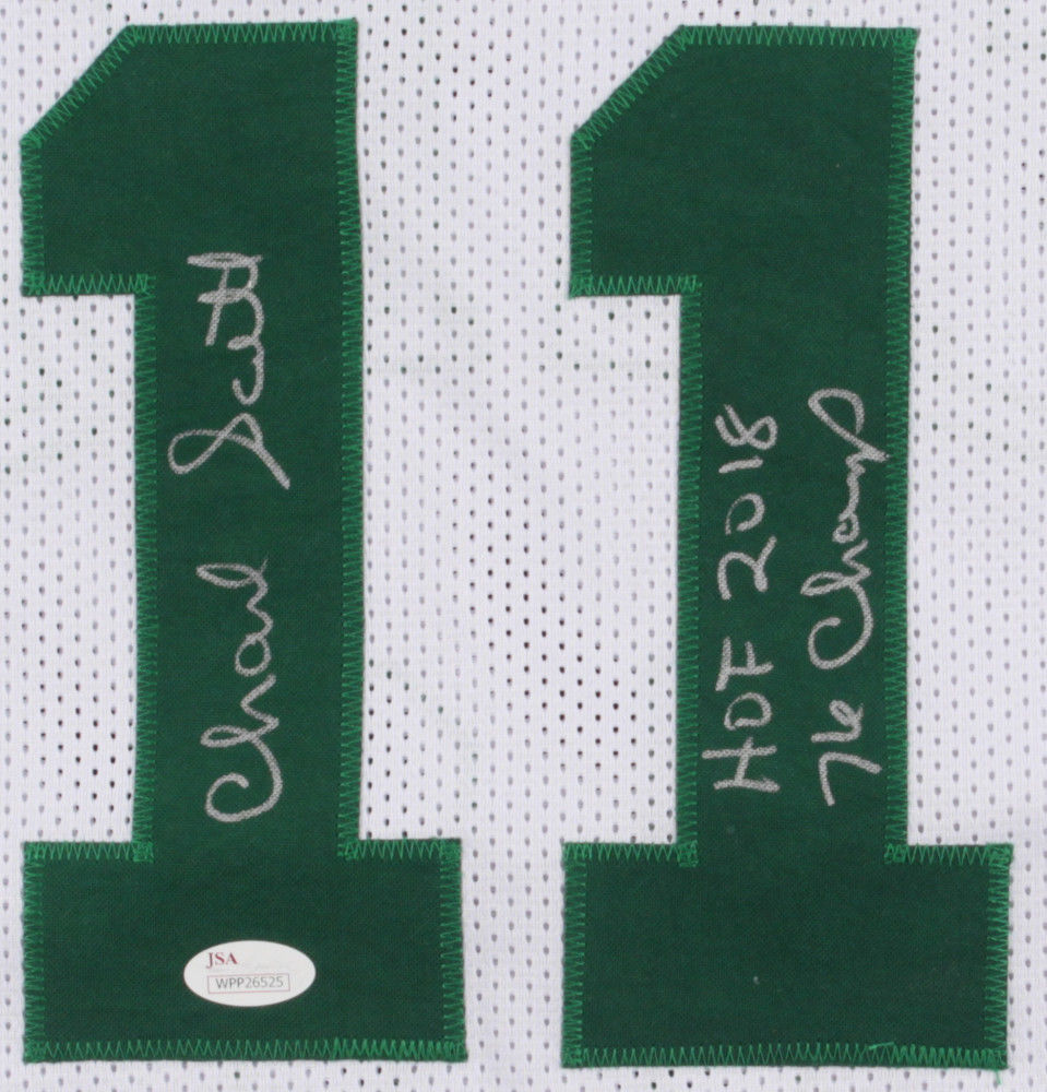 483fa1e3e Charlie Scott Autographed Signed Celtics Jersey Inscribed Hof 2018   76  Champs - JSA Certified. Loading Images...  254.99 Price