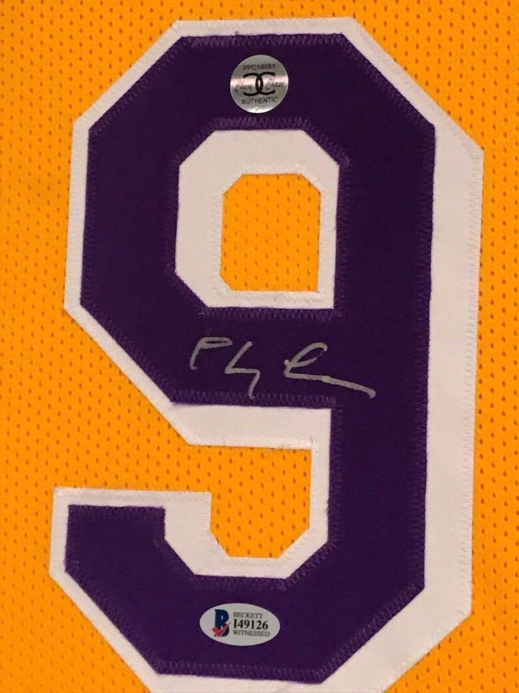 45a699134 ... FLETCH Custom Framed Los Angeles Lakers Jersey BAS COA. Loading  Images...  987.99 Price
