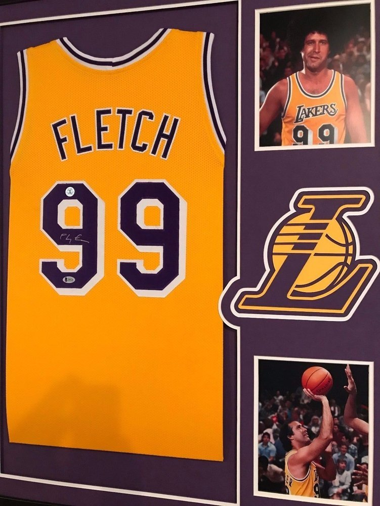 a4053ef5bc7f Chevy Chase Autographed Signed FLETCH Custom Framed Los Angeles Lakers  Jersey BAS COA. Loading Images...  1444.99 Original