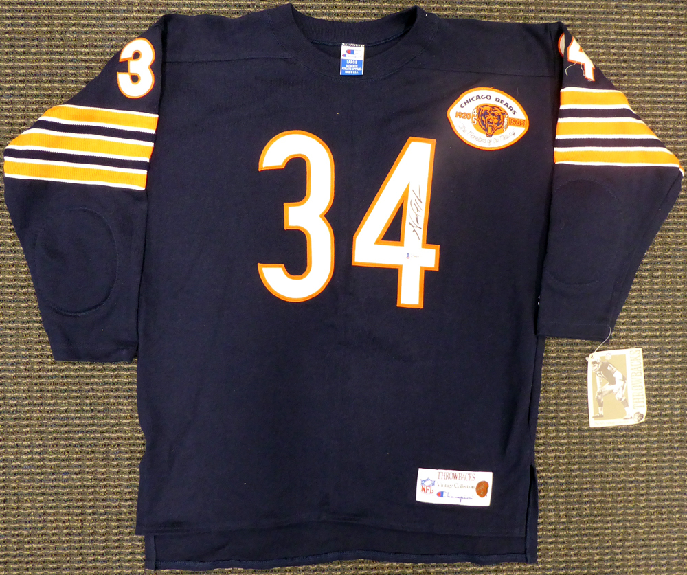 low priced a112d 25741 Chicago Bears Walter Payton Autographed Signed Champion ...