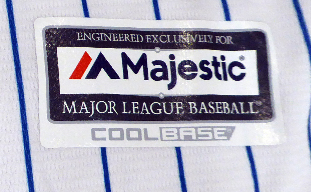 e46570d54b7 Chicago Cubs Kyle Schwarber Autographed Signed White Majestic Cool Base  Jersey With 2016 World Series Patch Size XL - Beckett Authentic. Loading  Images.