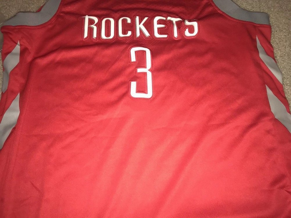 bfc6d7abebb ... authentic chris paul autographed signed houston rockets jersey beckett  coa fe297 f7380