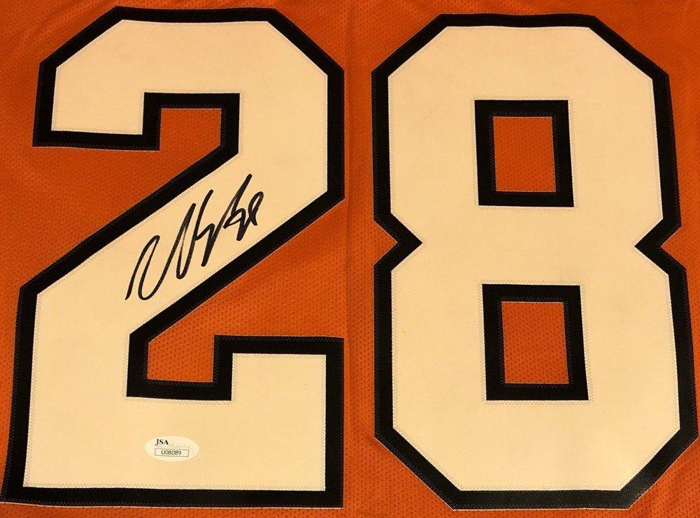 finest selection 1319c e9d30 Claude Giroux Autographed Signed Philadelphia Flyers Rbk ...
