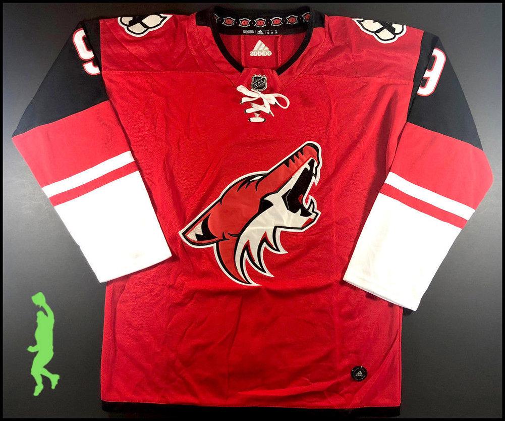 8d1193301e9 ... Clayton Keller Autographed Signed Arizona Coyotes Hockey Jersey Beckett  Authentic COA Image a ...