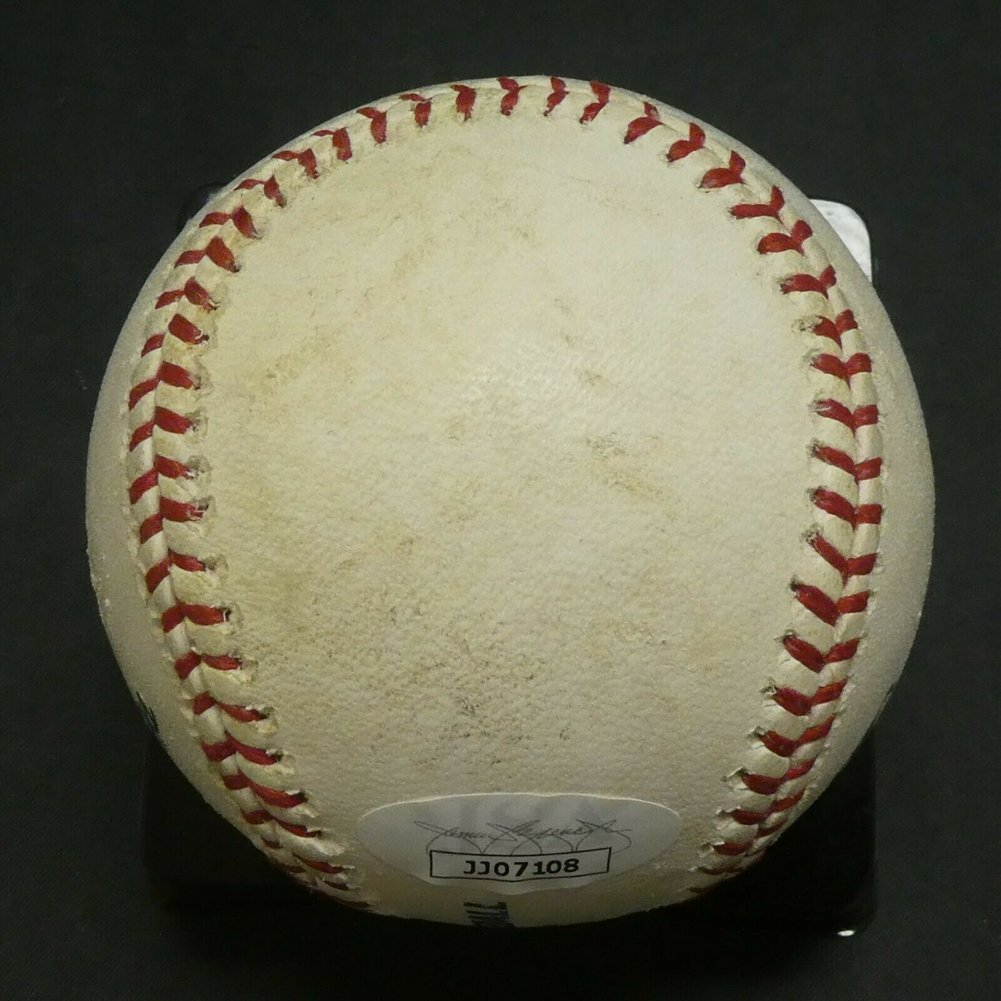 Clayton Kershaw Autographed Signed Game Used Baseball With JSA COA Image a