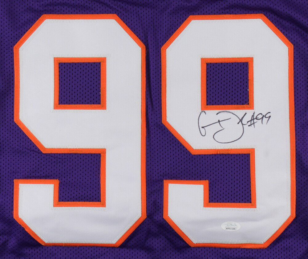 Clelin Ferrell Autographed Signed Clemson Tigers Jersey (JSA COA) #4 Overall Pick 2019 Draft Image a