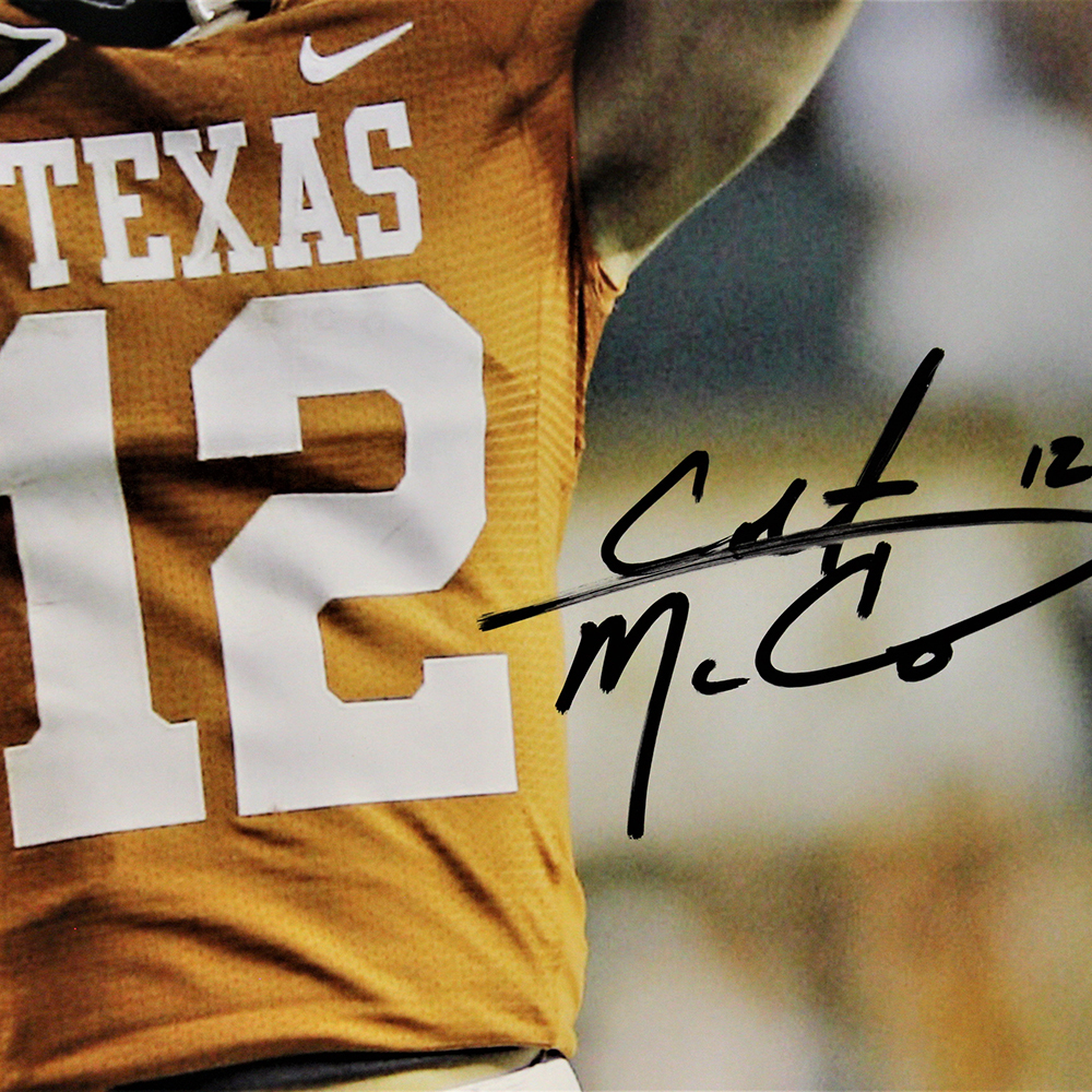 Colt McCoy Autographed Signed Texas Longhorns 16x20 Photo - PSA/DNA Authentic Image a