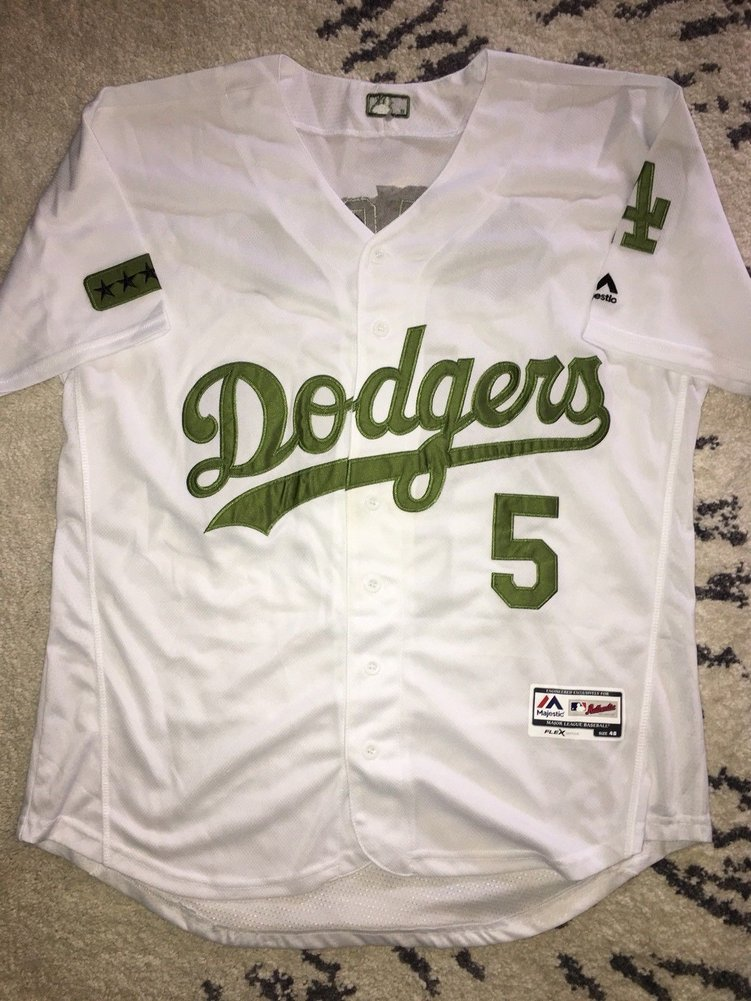 timeless design 2cff2 86b8b Corey Seager Autographed Signed Los Angeles Dodgers Jersey ...