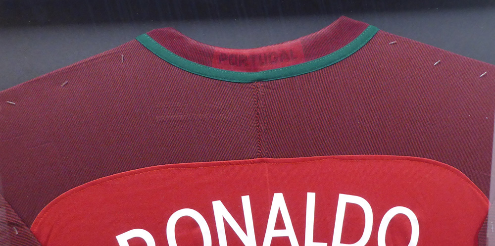 099dbcd6057 Cristiano Ronaldo Autographed Signed Framed Nike Portugal Authentic Red  Jersey - PSA DNA Authentic. Loading Images...  1488.99 Price