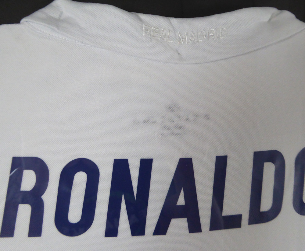 on sale 2c990 04736 Cristiano Ronaldo Autographed Signed Framed Real Madrid Fly ...